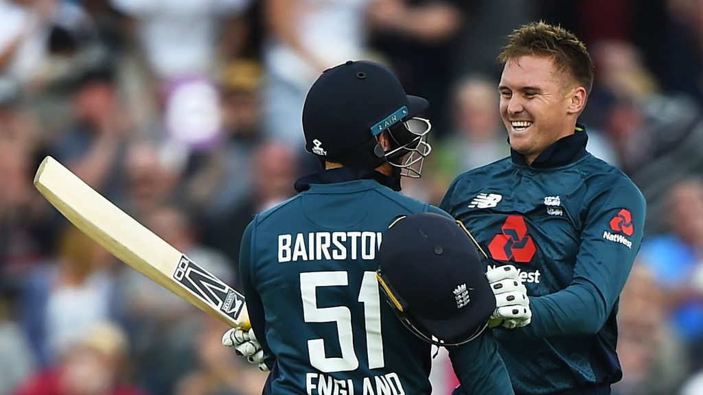 England v Australia: Jason Roy & Jonny Bairstow 174-run partnership - best shots
