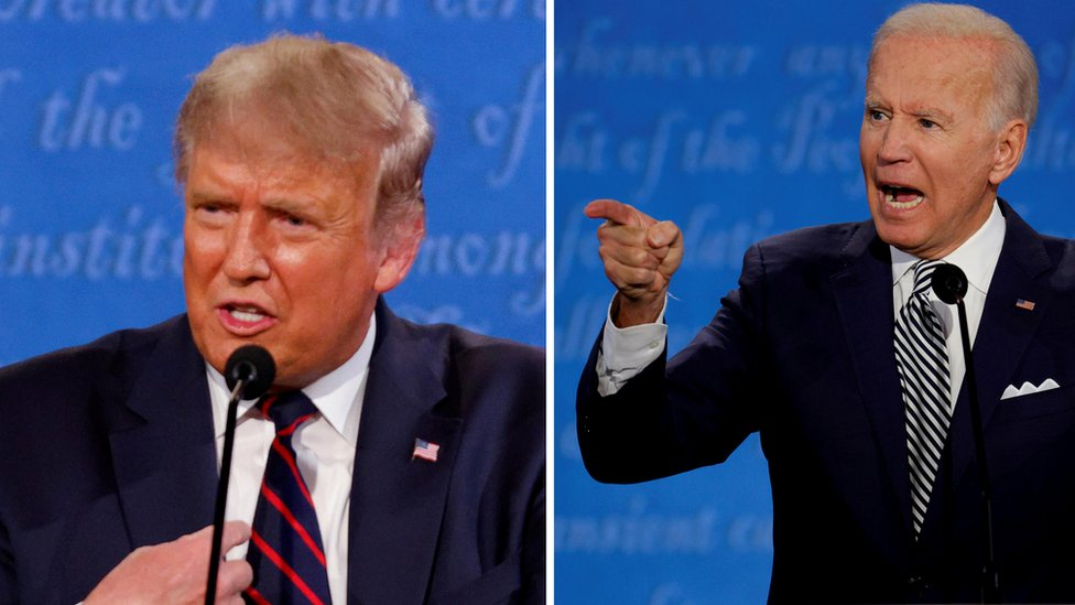 Presiden Trump, Joe Biden, debat capres