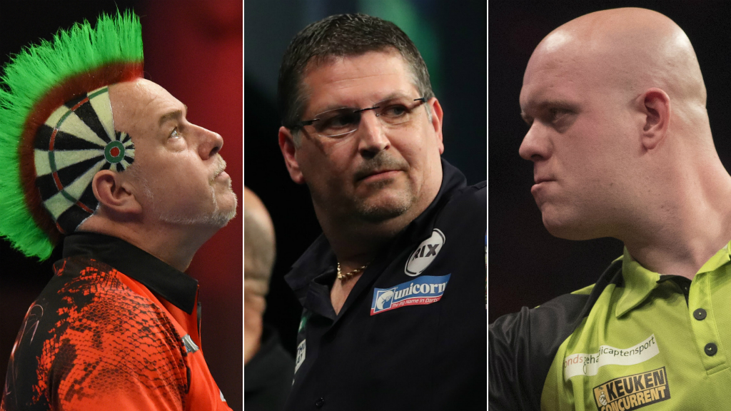 Wild hairstyles & baby dashes - get to know Champions League of Darts stars