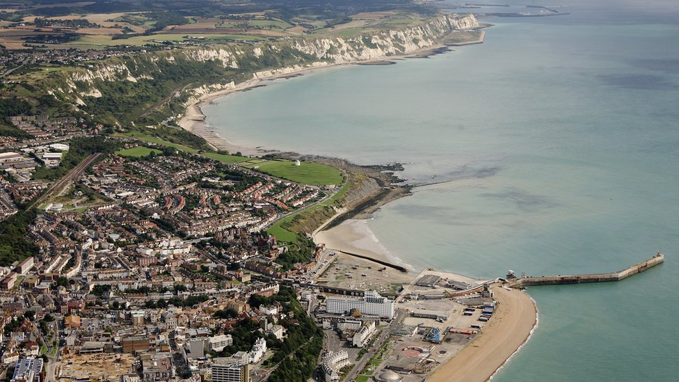 Ariel picture of Folkestone