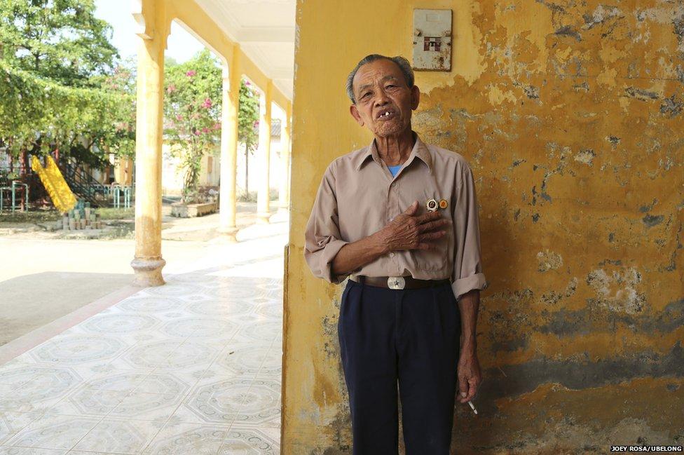Luong Ngoc Lam, 78, at Friendship Village