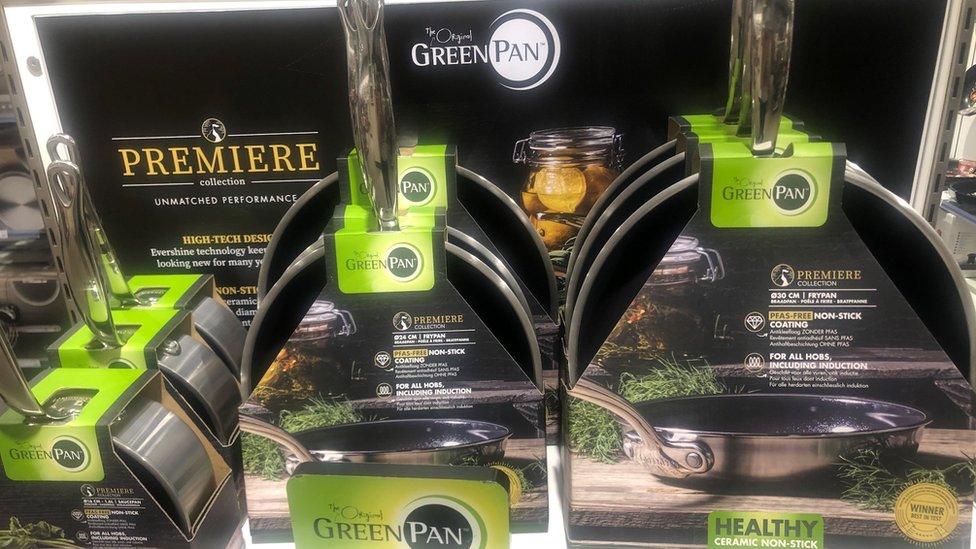 Greenpan es una de las empresas especializadas en sartenes sin PFAS.