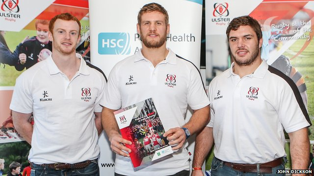 Ulster Rugby supporting healthier clubs and communities