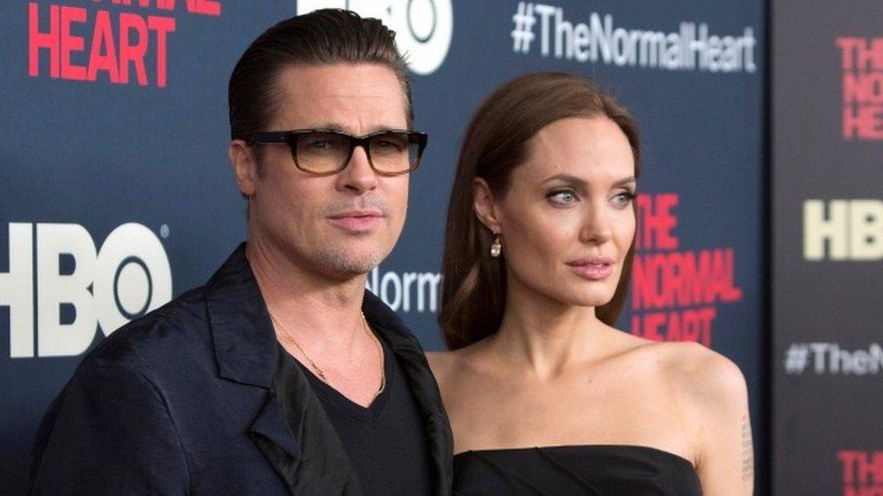 Brad Pitt ve Angelina Jolie 2016'da ayrılmıştı