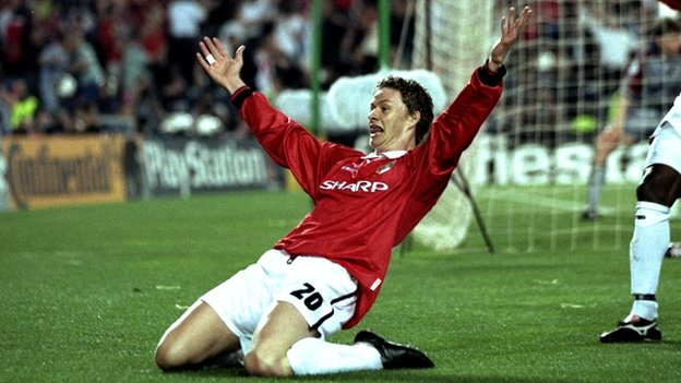 Solskjaer scored the winner but can you name Man Utd's 1999 Champions League final team?