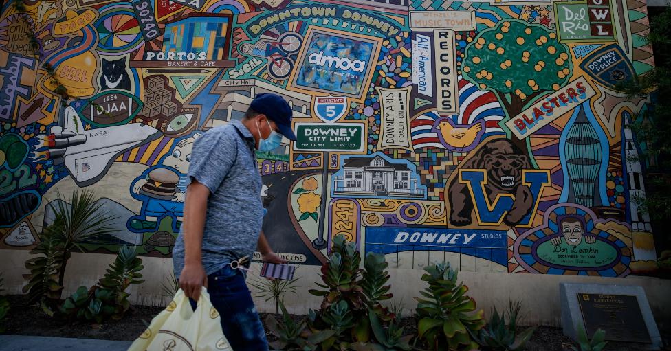Mural en Downey