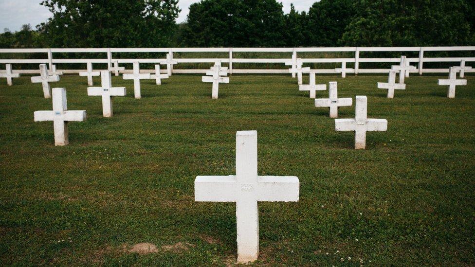 Cementerio de la Penitenciaría Estatal de Louisiana.