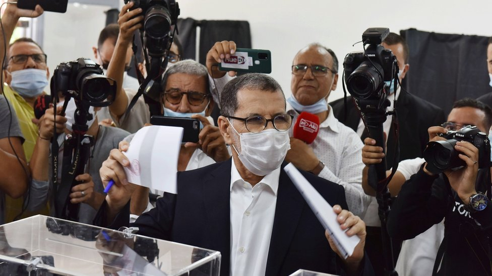 زعيم حزب العدالة والتنمية عبد الإله بنكيران