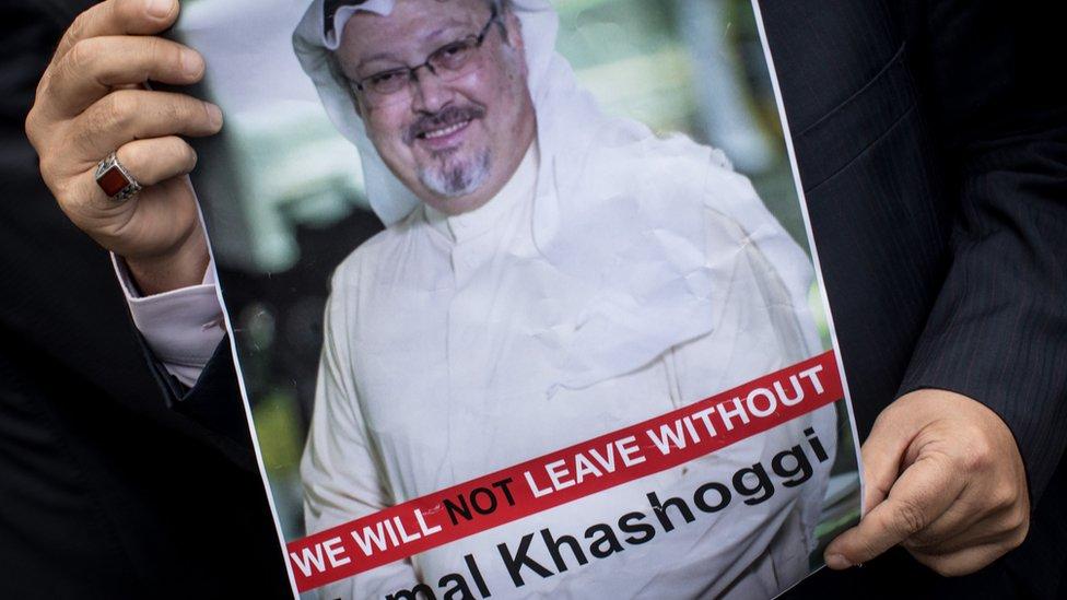 La desaparición de Jamal Khashoggi ha generado varias protestas en contra de las autoridades sauditas.
