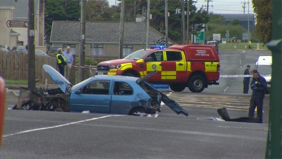 Bundoran crash: Two killed and three injured
