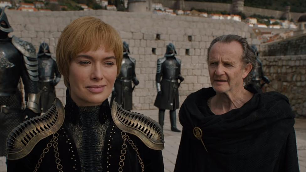 Cersei y Qyburn