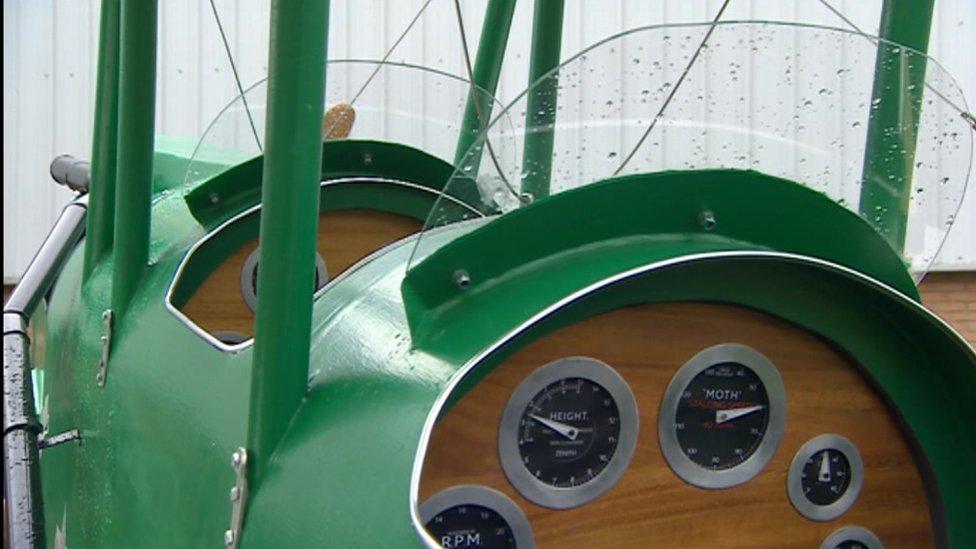 The replica plane