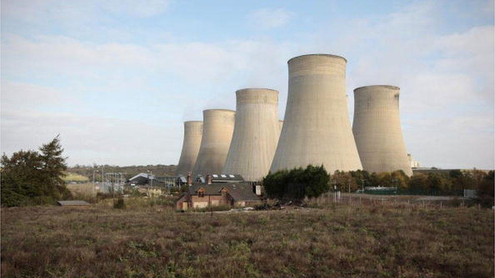 Ratcliffe-on-Soar power station, near Nottingham