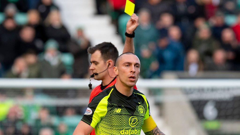 Monday jury: Should Celtic captain Scott Brown have been sent off?