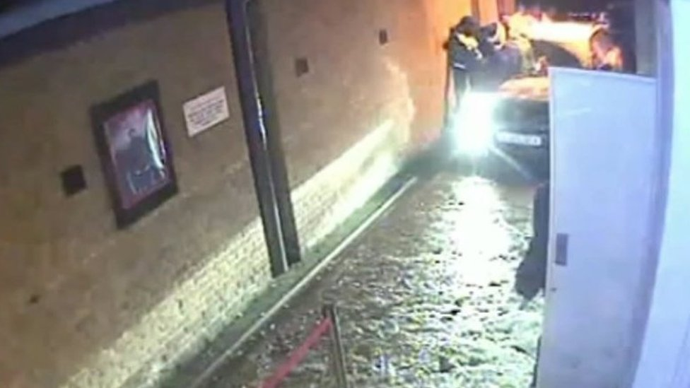 CCTV of car in Gravesend nightclub shown to jurors