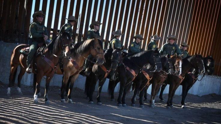 Trump'ın ABD sınırına yolladığı güvenlik güçleri