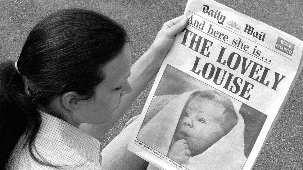 IVF yöntemiyle doğan bebekler tüm dünyada manşetlerdeydi.
