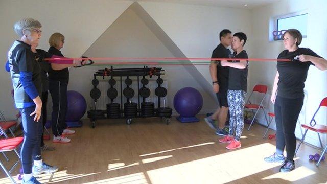 Cancer gym