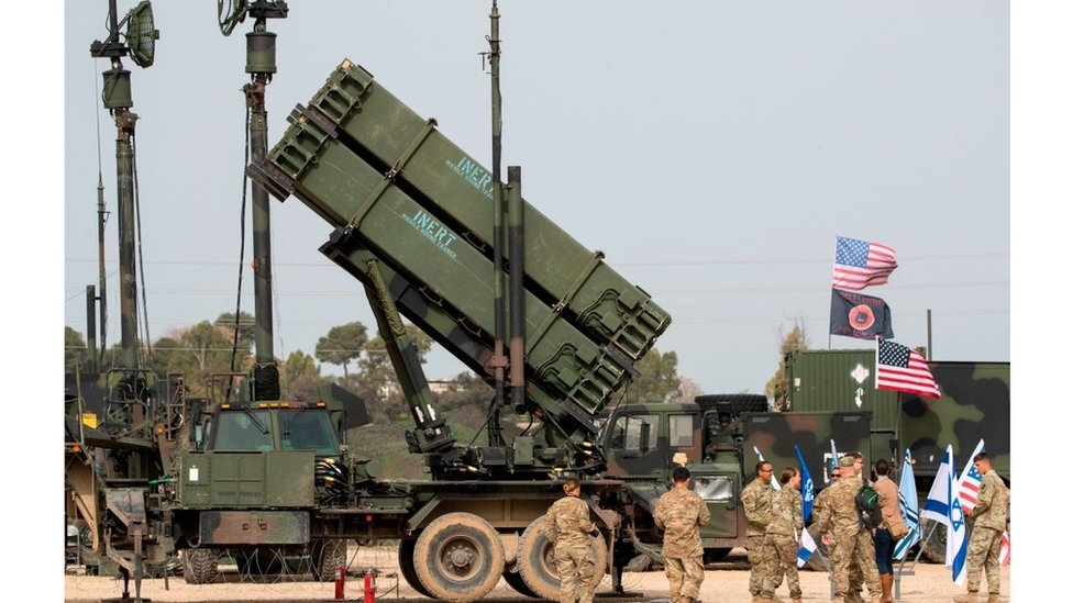 ABD Patriot füze savunma sistemi