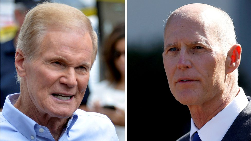 Bill Nelson y Rick Scott