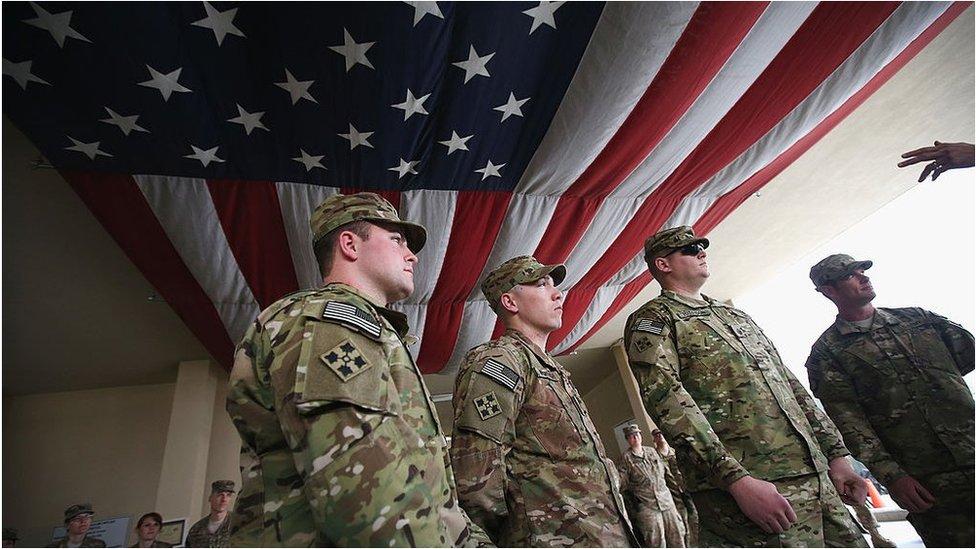 قوات أمريكية في أفغانستان