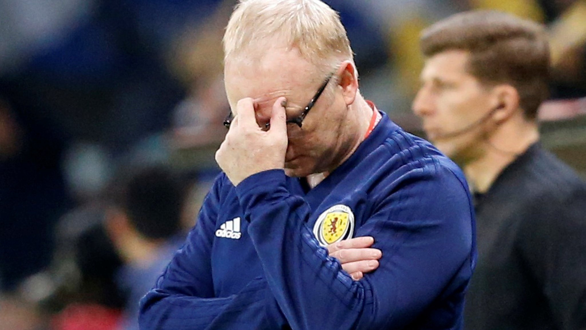 Kazakhstan 3-0 Scotland: Alex McLeish refuses to discuss future