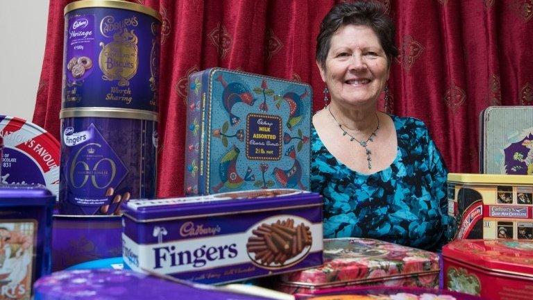 Fan donates Cadbury memorabilia to company archives
