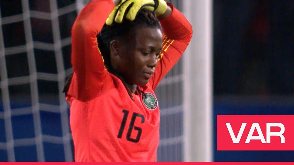 Women's World Cup 2019: Relief for Wendie Renard as she scores retaken VAR penalty to beat Nigeria