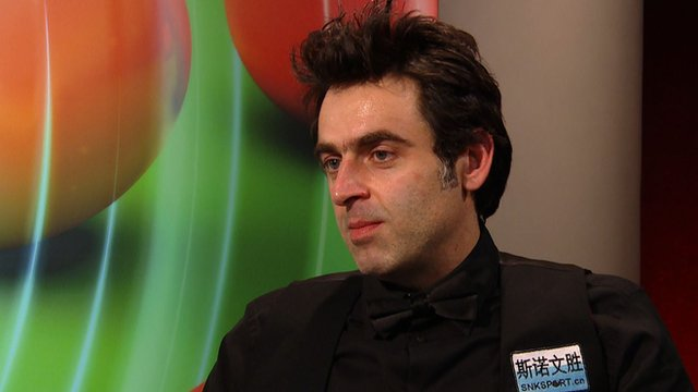 Ronnie O'Sullivan gives candid post Masters semi interview