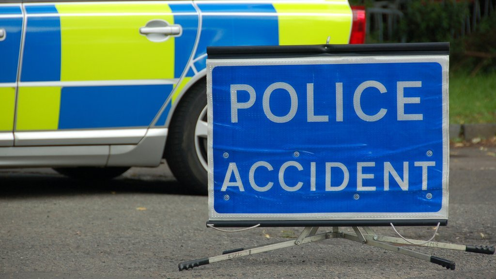 A77 near Stranraer closed after serious accident