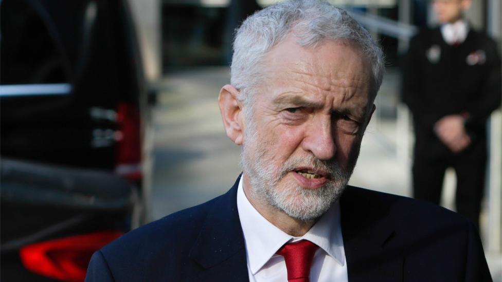 Labour anti-Semitism claims: Jewish group backs Corbyn