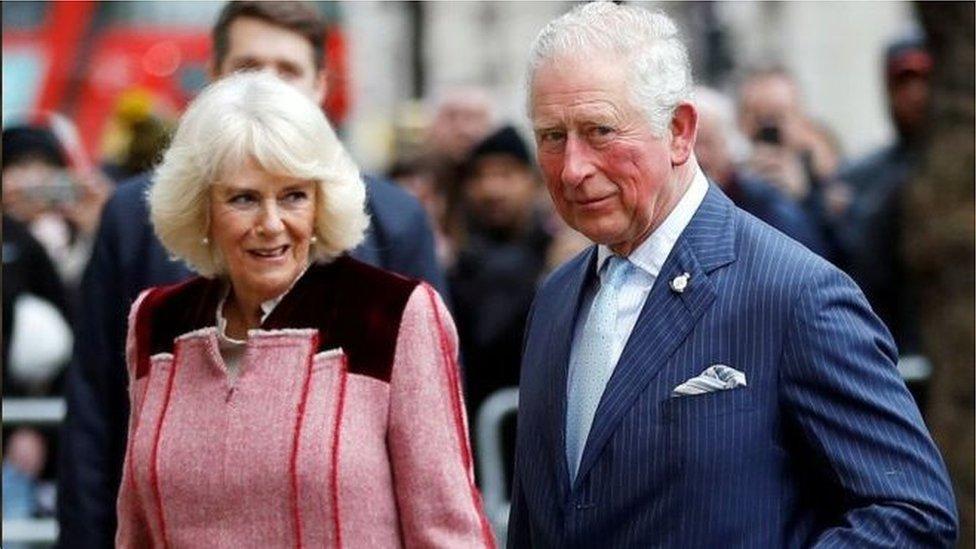 查爾斯王子夫婦