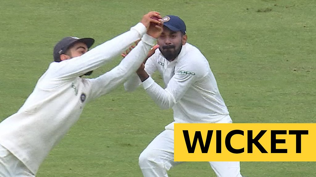 England v India: Virat Kohli takes 'outstanding' catch off 'awful' Ollie Pope drive