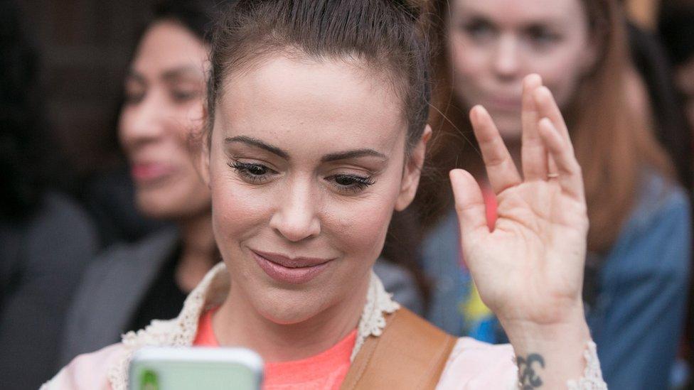 艾莉莎·米蘭諾在推特上使用#MeToo獲得廣大迴響。