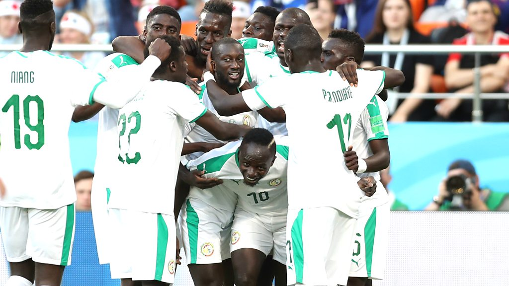 World Cup 2018: Sadio Mane scores to give Senegal 1-0 lead over Japan