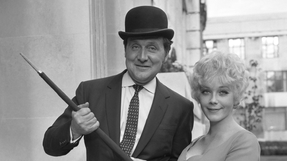 Patrick Macnee The Last Great Bowler Hat Wearer Bbc News