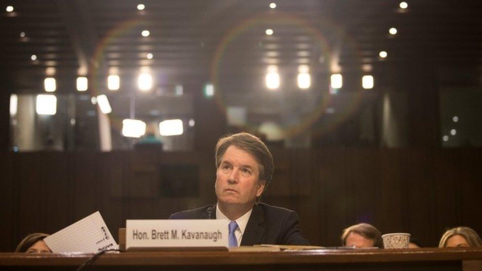 Supreme Court nominee Brett Kavanaugh testifies in Washington