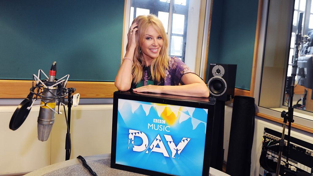 Kylie Minogue becomes railway announcer for BBC Music Day