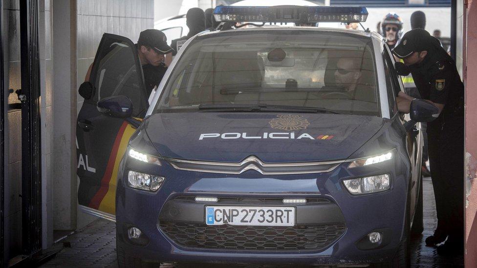 Arresto de Antonio Tejón
