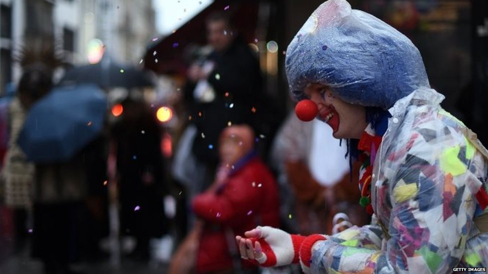 German Carnival Parades Halted By Storm Bbc News