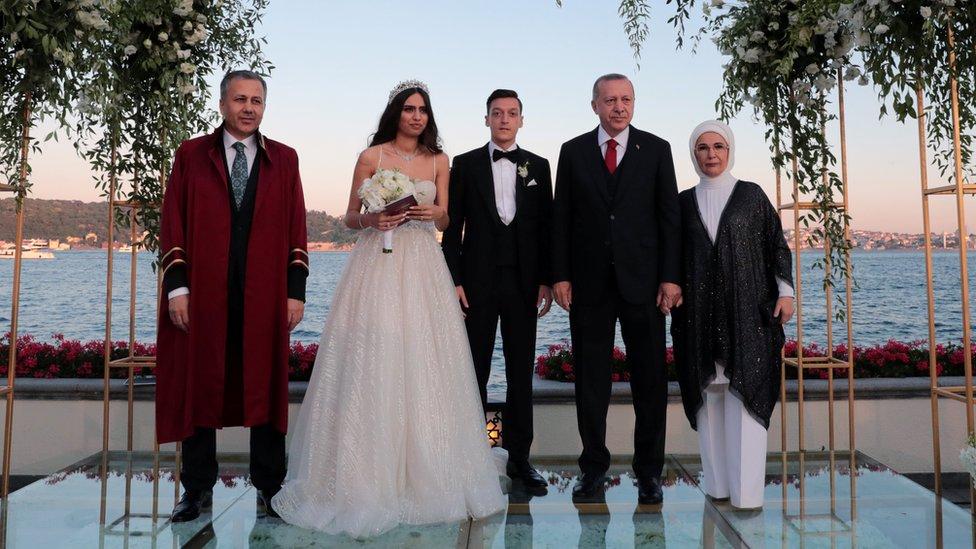 Erdogan and Ozil