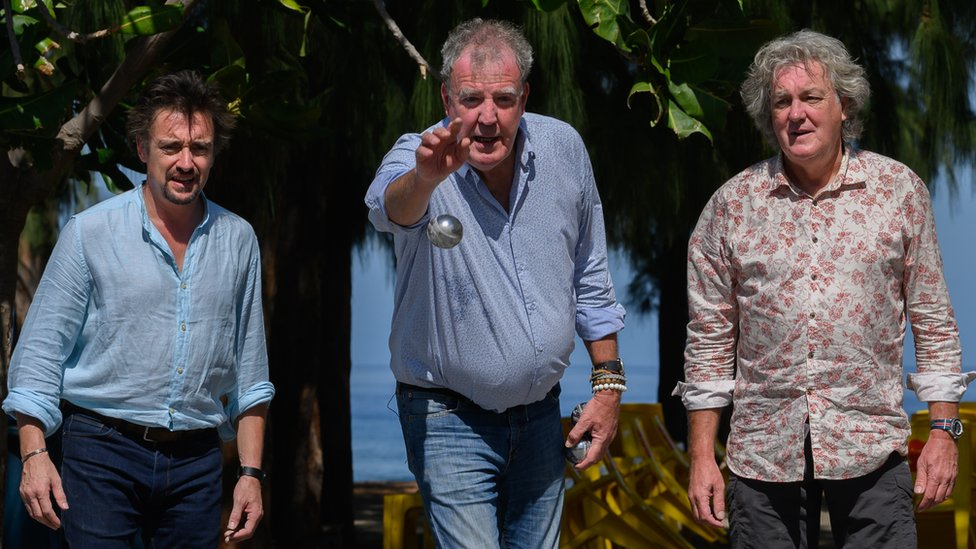 The Grand Tour stars on pirate treasure, cycle lanes and electric cars thumbnail