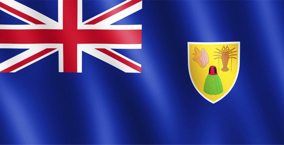 Turks and Caicos flag