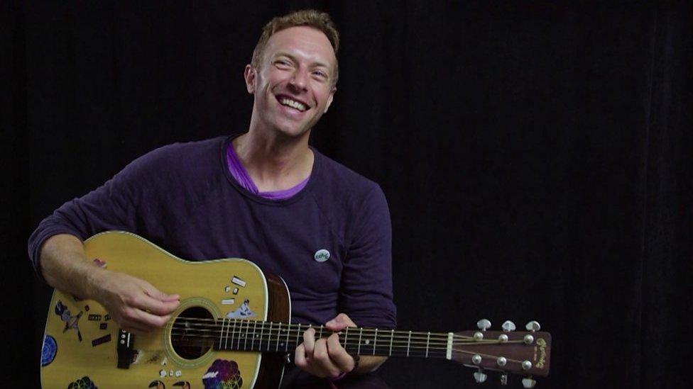 BBC News - Coldplay: How Chris Martin created hit Yellow