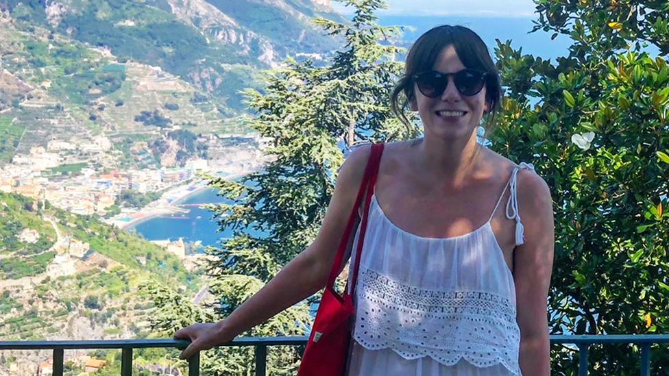 Michelle de vacaciones