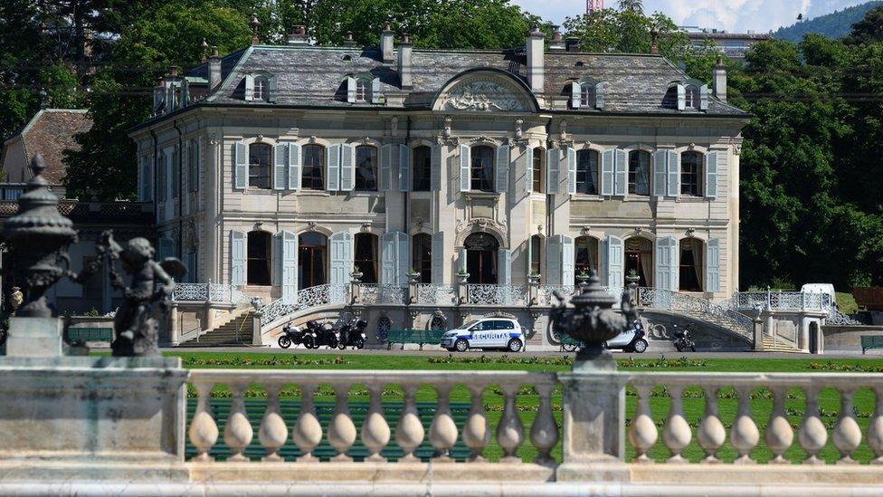 La cumbre del 16 de junio se celebrará en la gran Villa La Grange de Ginebra