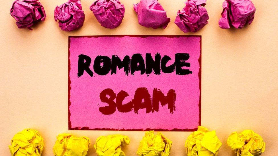 Scams internet ghana love List of