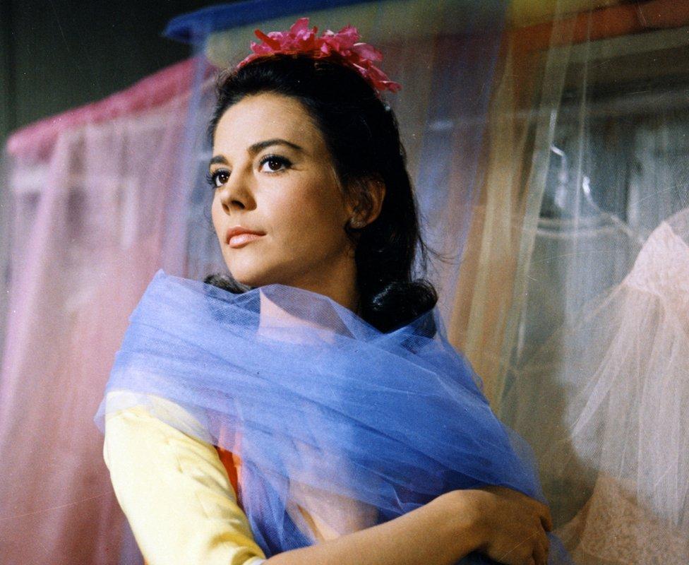 Natalie Wood como María en la versión de West Side Story de 1961