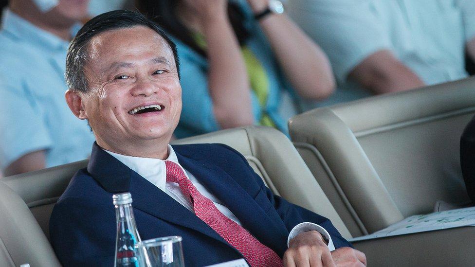 El fundador de Alibaba, Jack Ma durante una conferencia el 5 de septiembre de 2018 en Hangzhou, China.