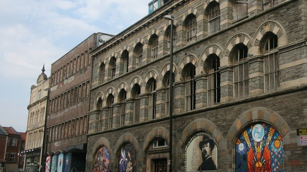 Westmoreland House and the Carriageworks